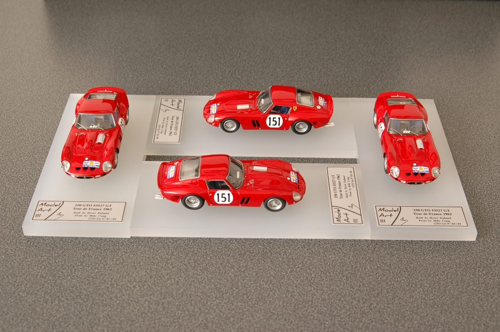 Modelart111 250 GTO Set : #3527 Tour de France 1962
